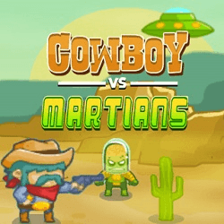 Cowboy VS Martians